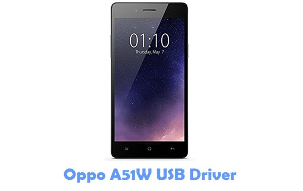 Download Oppo A51W USB Driver