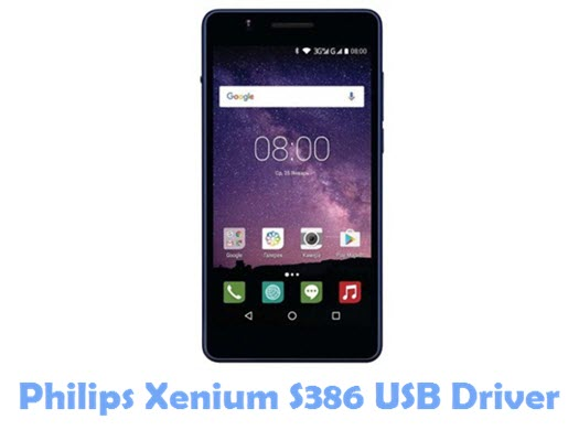 Download Philips Xenium S386 USB Driver
