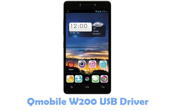 Download Qmobile W200 USB Driver
