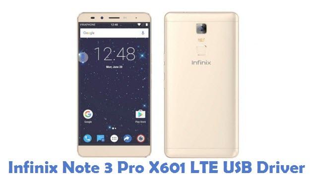 Infinix Note 3 Pro X601 LTE USB Driver