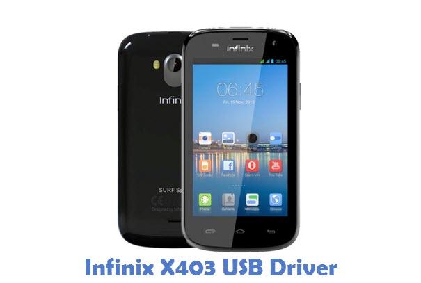 Infinix X403 USB Driver