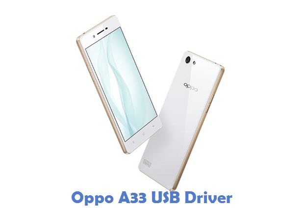 Oppo A33 USB Driver