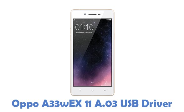 Oppo A33wEX 11 A.03 USB Driver