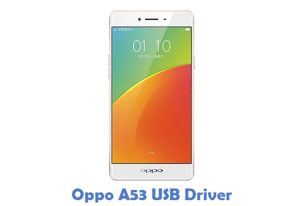 Oppo A53 USB Driver