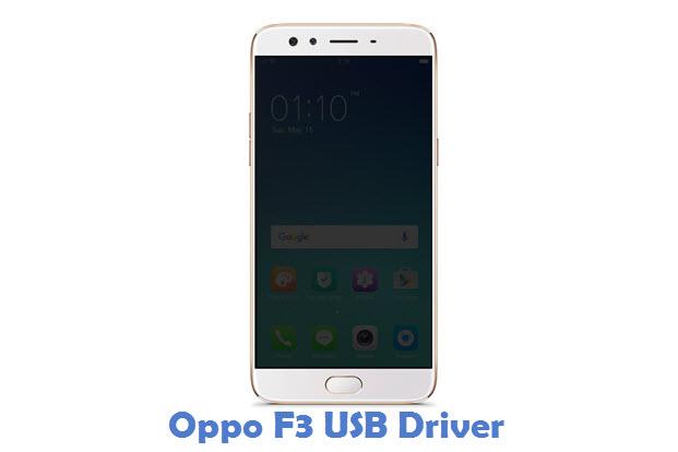 Oppo F3 USB Driver
