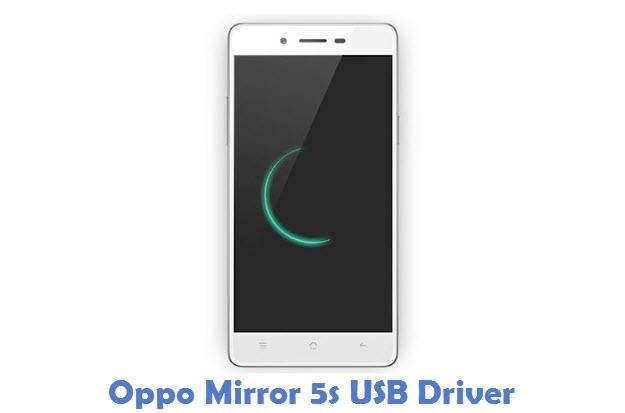 Oppo Mirror 5s USB Driver
