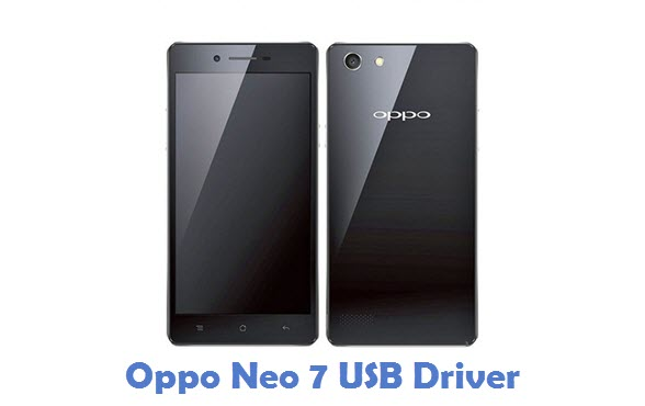 Oppo Neo 7 USB Driver