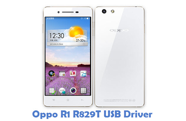Oppo R1 R829T USB Driver