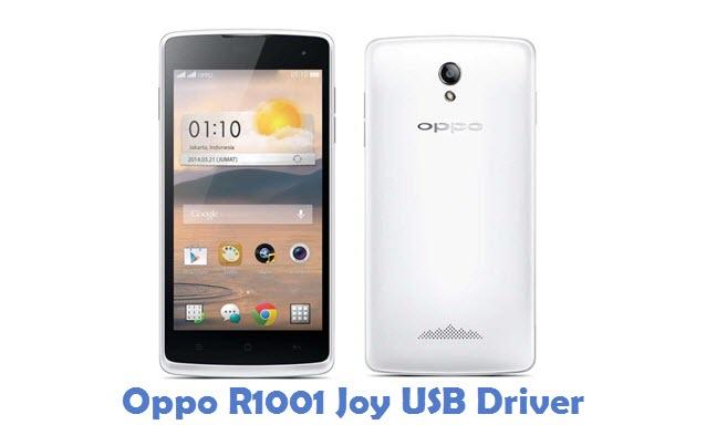 Oppo R1001 Joy USB Driver