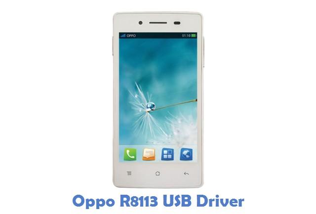 Oppo R8113 USB Driver