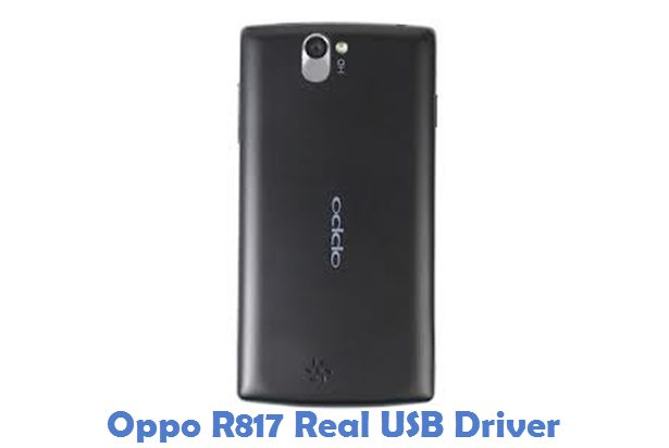 Oppo R817 Real USB Driver