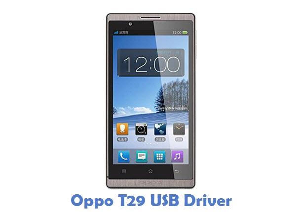 Oppo T29 USB Driver