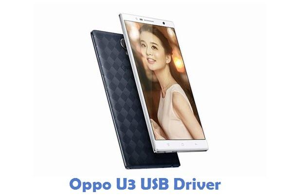 Oppo U3 USB Driver