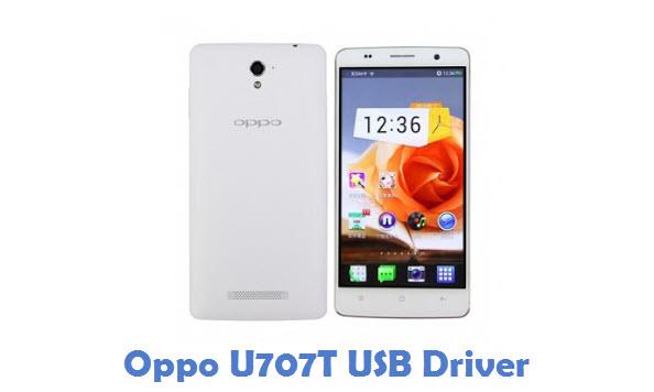 Oppo U707T USB Driver