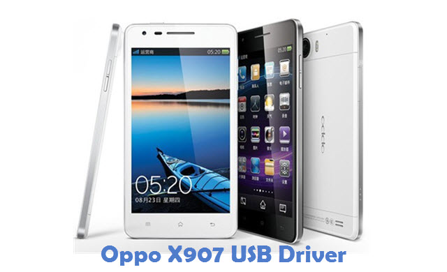 Oppo X907 USB Driver