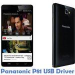 Panasonic P81 USB Driver
