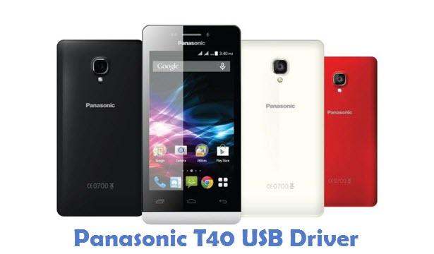 Panasonic T40 USB Driver