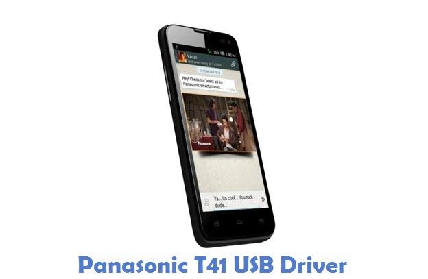 Panasonic T41 USB Driver