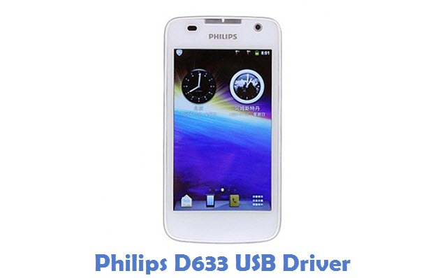Philips D633 USB Driver