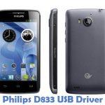 Philips D833 USB Driver