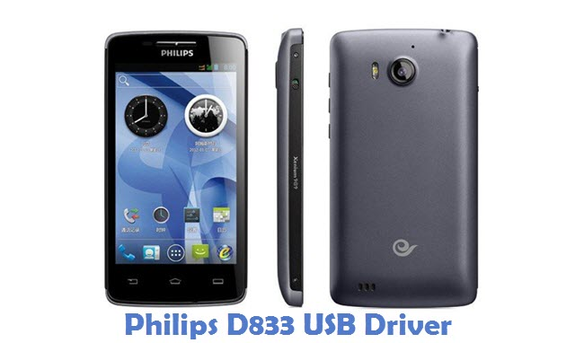 Philips D833 USB Driver