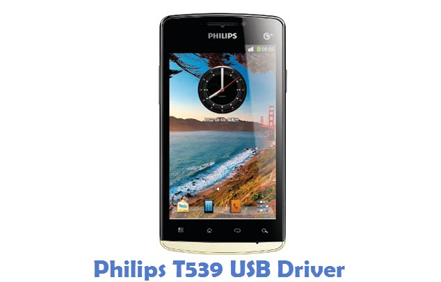 Philips T539 USB Driver