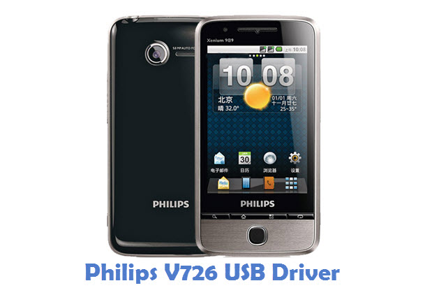 Philips V726 USB Driver