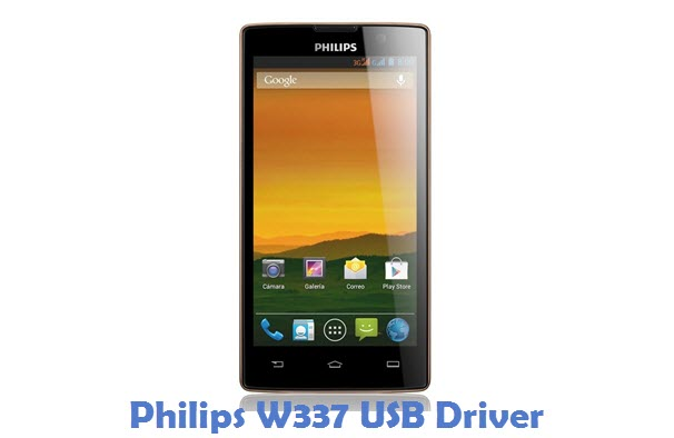 Philips W337 USB Driver