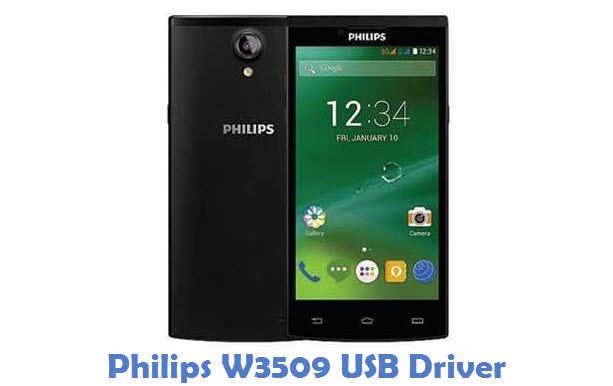 Philips W3509 USB Driver