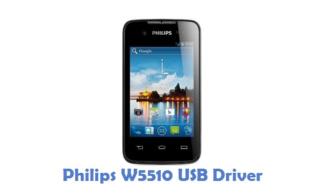 Philips W5510 USB Driver