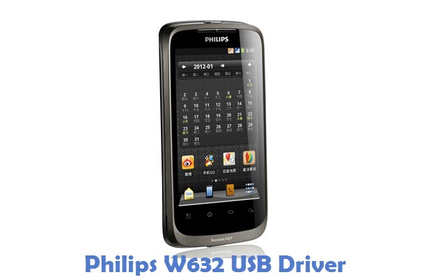 Philips W632 USB Driver