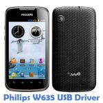 Philips W635 USB Driver