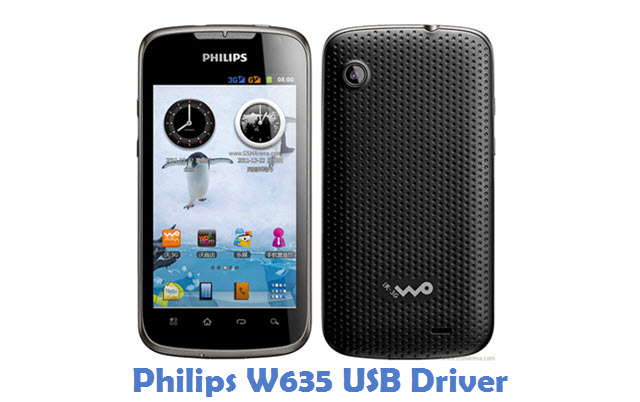 Philips W635 USB Driver