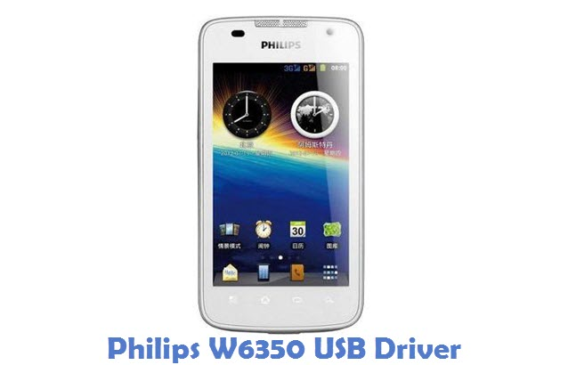 Philips W6350 USB Driver