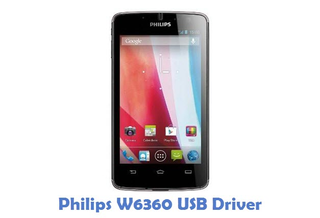 Philips W6360 USB Driver
