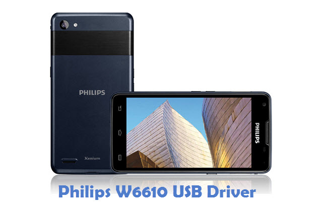 Philips W6610 USB Driver