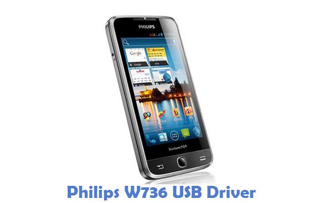 Philips W736 USB Driver