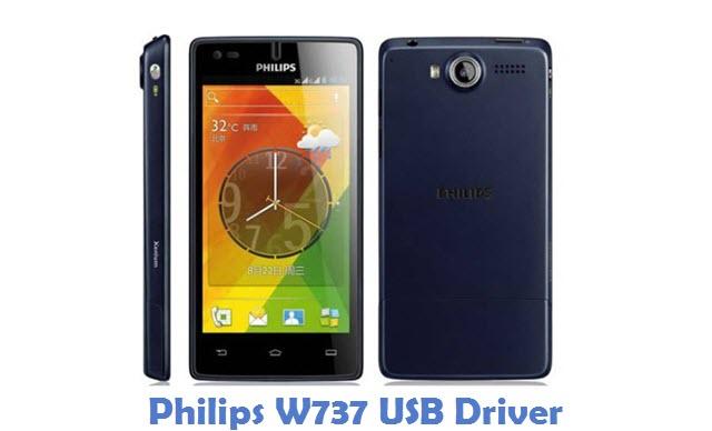 Philips W737 USB Driver