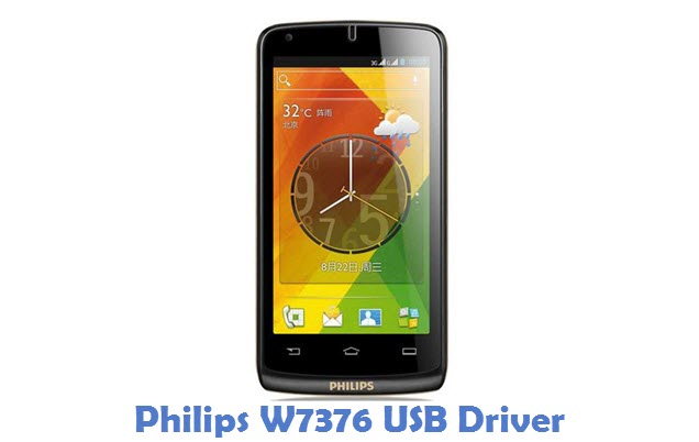 Philips W7376 USB Driver