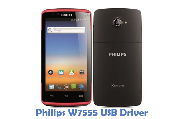 Philips W7555 USB Driver