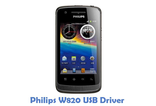 Philips W820 USB Driver