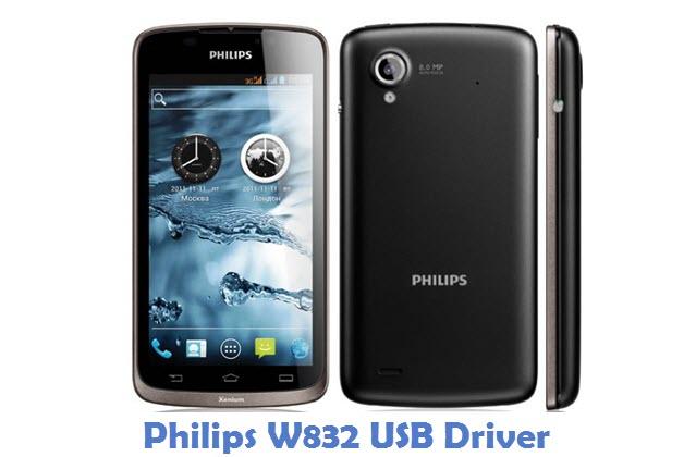Philips W832 USB Driver