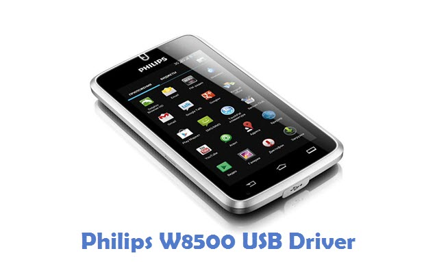 Philips W8500 USB Driver