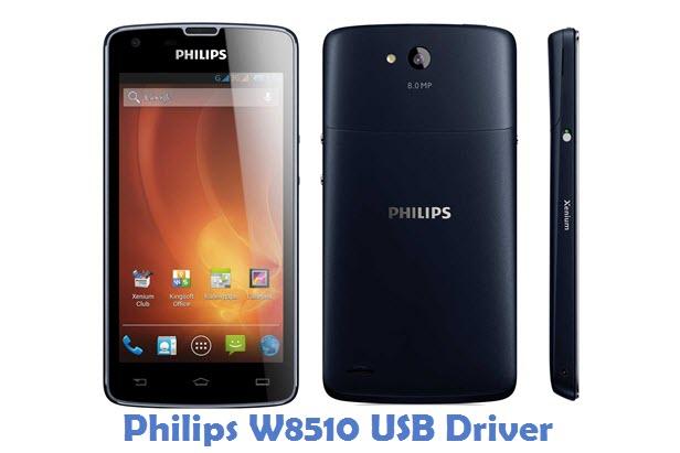 Philips W8510 USB Driver