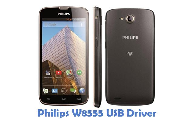 Philips W8555 USB Driver