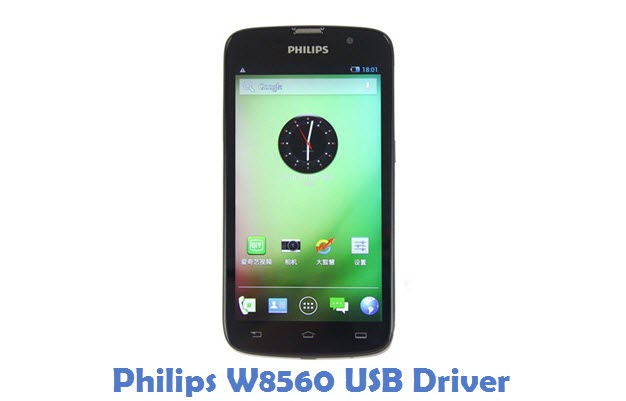 Philips W8560 USB Driver