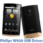 Philips W920 USB Driver