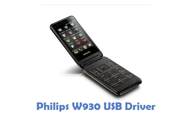 Philips W930 USB Driver