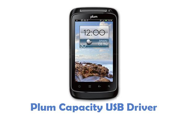Plum Capacity USB Driver