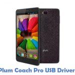 Plum Coach Pro USB Driver
